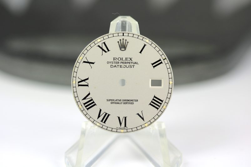 Rolex grey Buckley dial