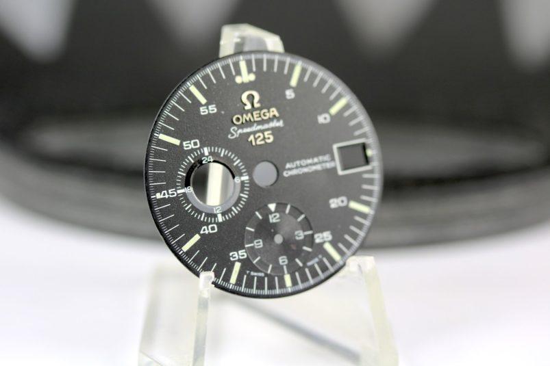 Omega Speedmaster 125 year dial