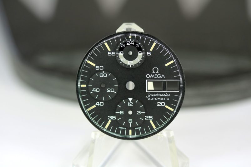 Omega Speedmaster automatic dial