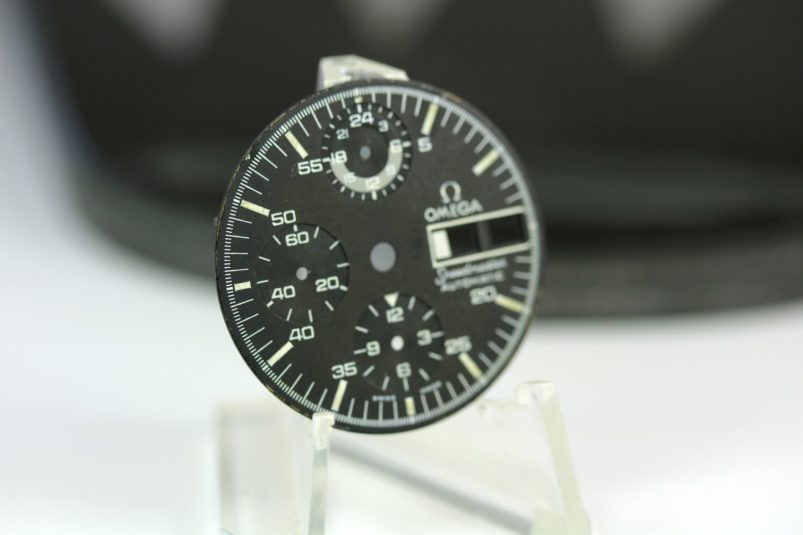 Omega Speedmaster automatic dial