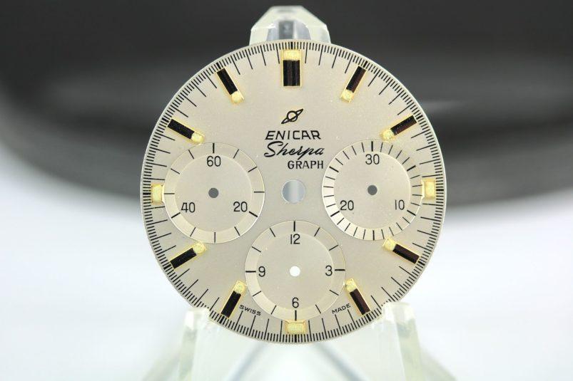 ENICAR Sherpagraph dial