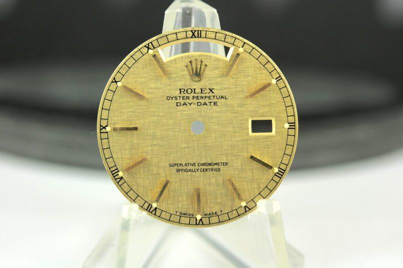 Rolex linen dial