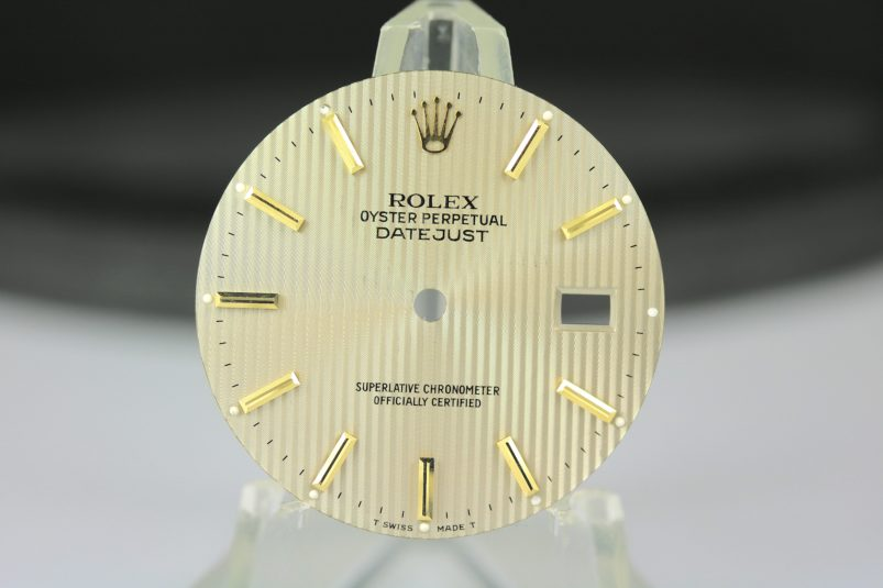 Rolex Datejust tapestry dial