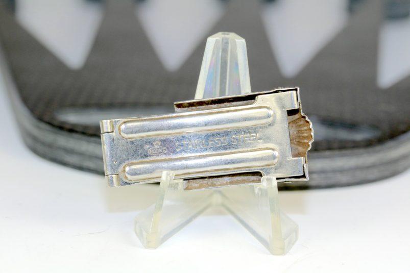 Rolex steel clasp