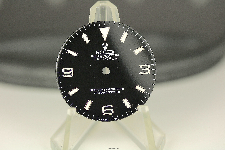 Rolex 14270 dial