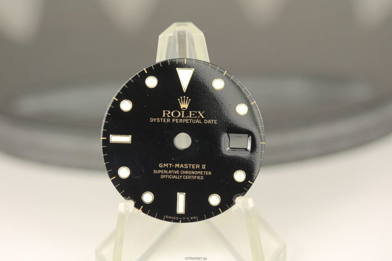 Rolex GMT II dial