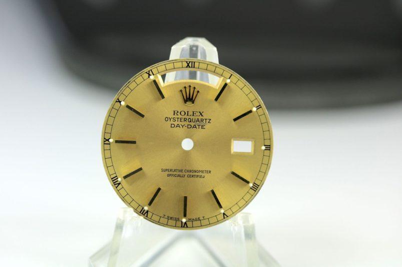 Rolex Qysterquartz dial