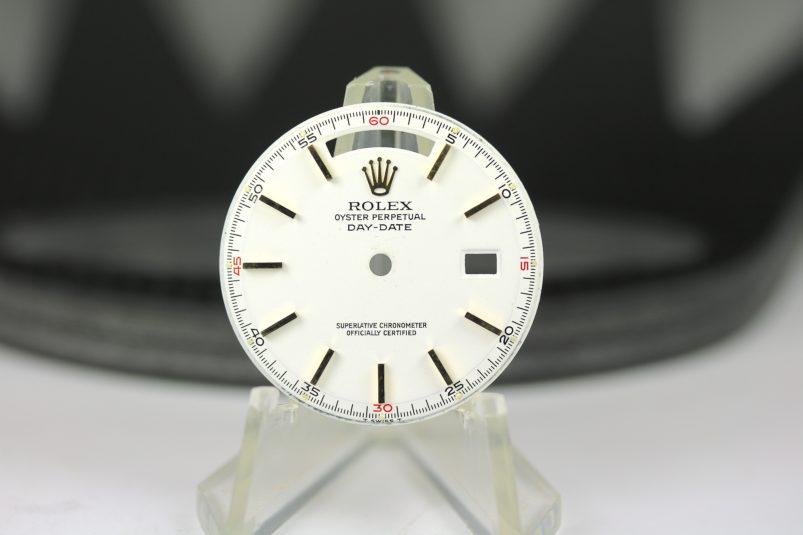 Rolex 1803 red quarter dial