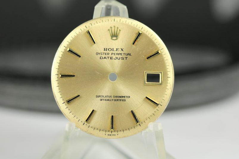 Rolex Datejust 1601 dial