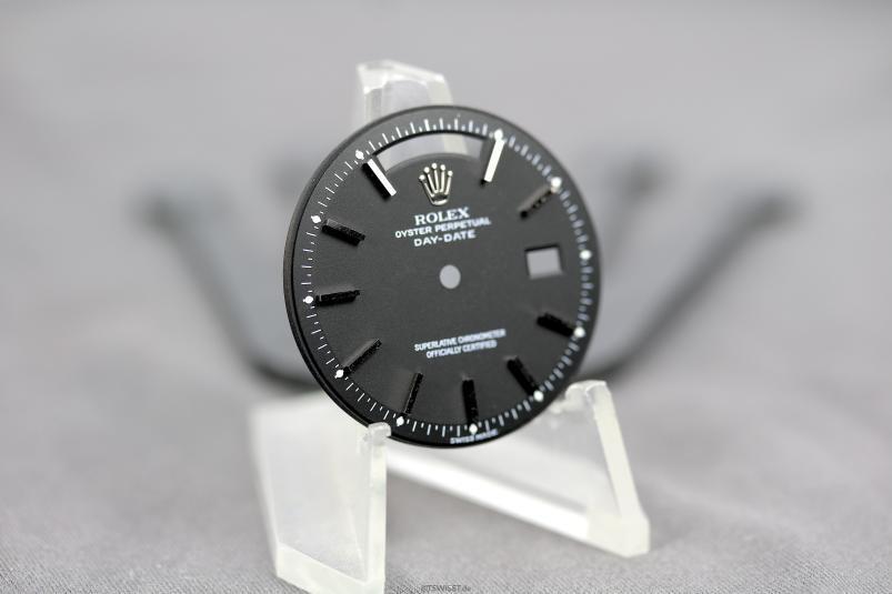 Rolex 1803 white gold matte black dial