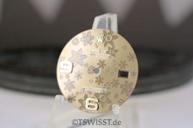 Rolex flower datejust dial