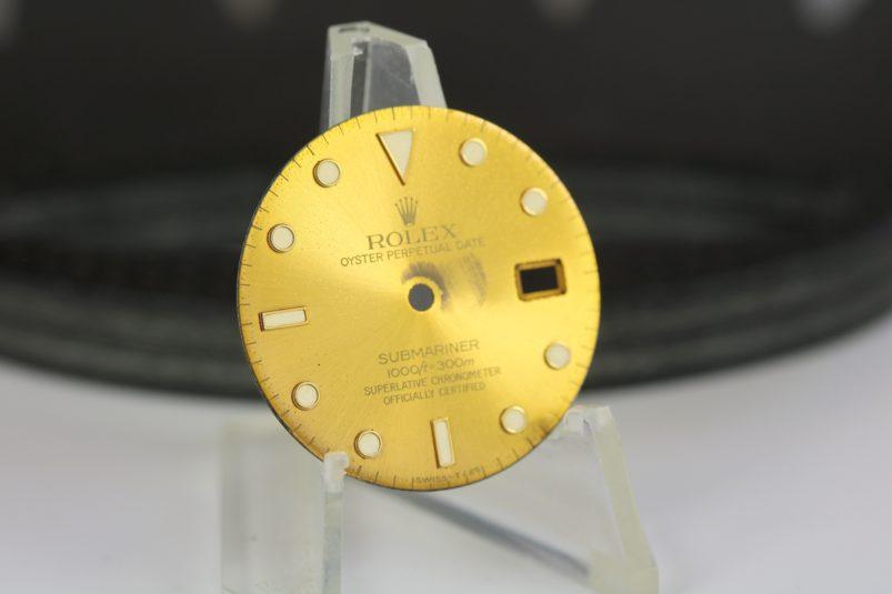 Rolex tropical Submariner dial