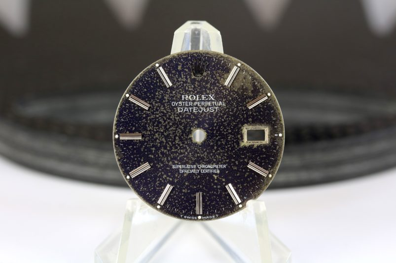 Rolex tropical Datejust dial