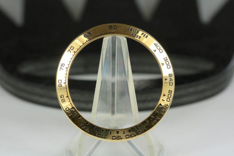 Rolex Daytona bezel gold