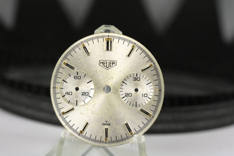 Old Heuer dial