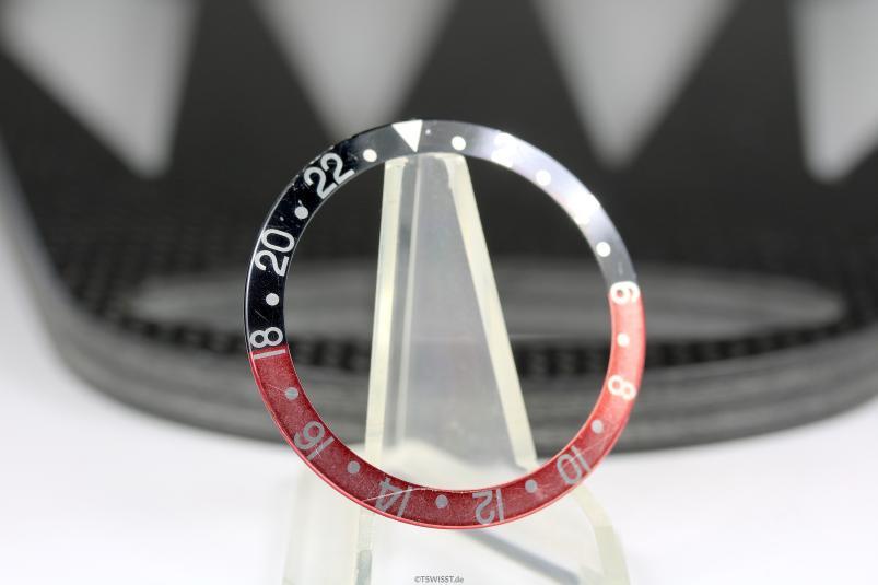 Rolex 16700 coke inlay