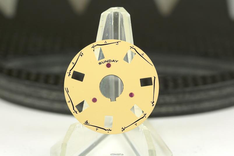 Rolex Farsi 5055 3055 day wheel