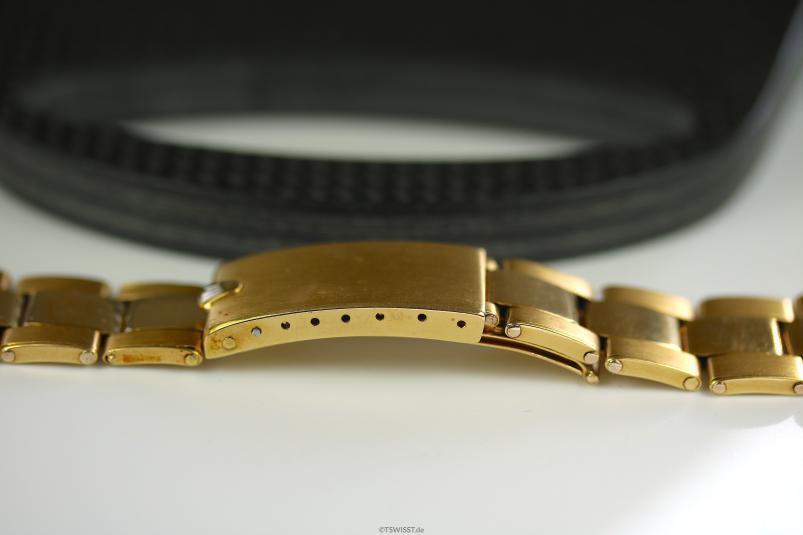 Rolex rivet gold bracelet daytona