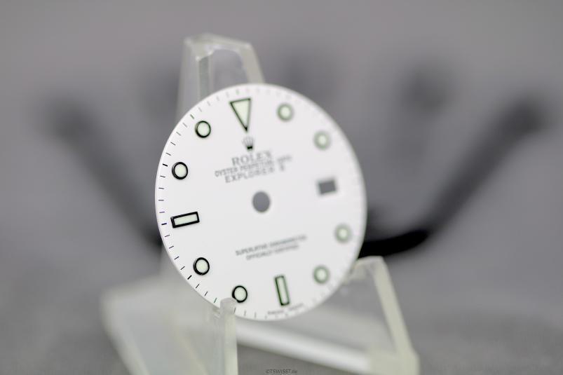 Rolex Explorer 16570 polar dial