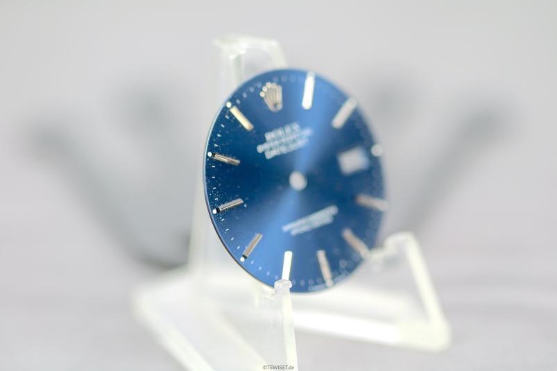 Rolex blue datejust dial