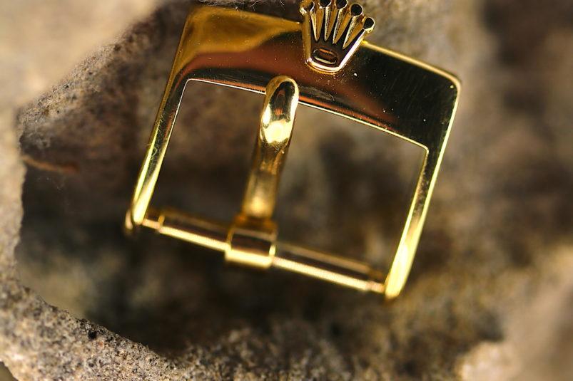 Plaque gold clasp Rolex
