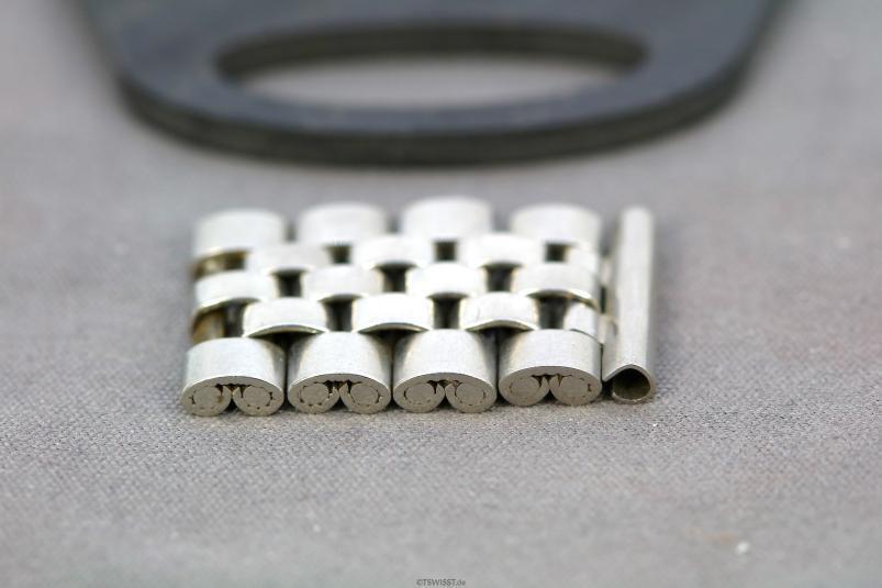 Rolex jubilee folded links