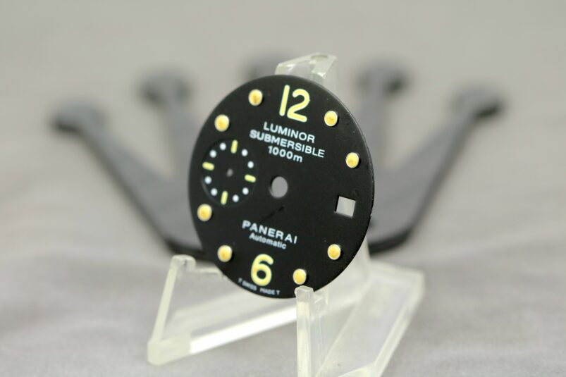 Panerai Submersible 1000m dial