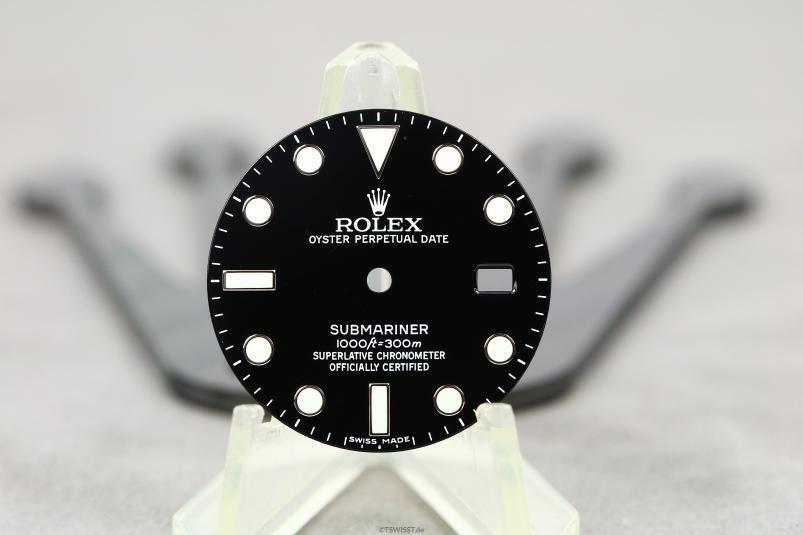 Rolex 116610LN dial