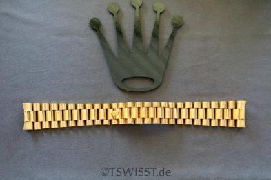 Rolex 18038 / 18238 bracelet 55 Endlinks