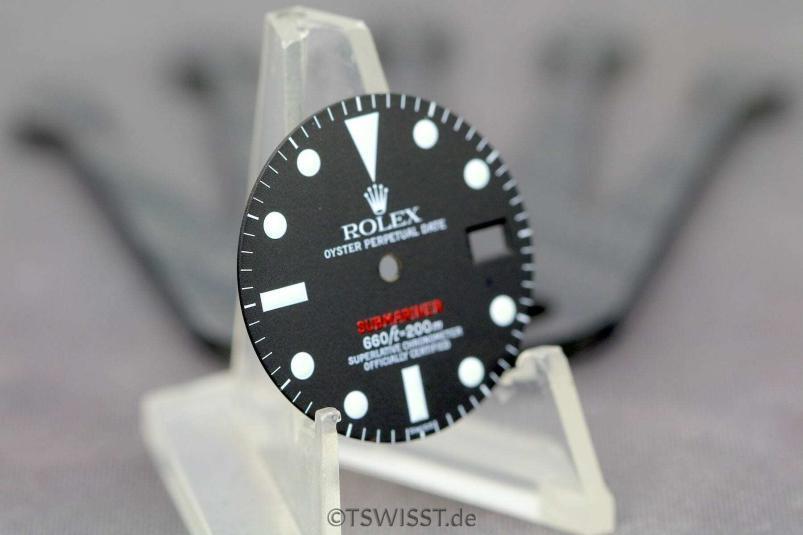 Rolex red Sub dial