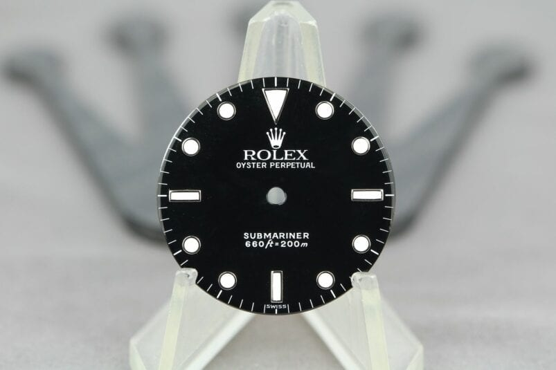 Rolex 5512/5513 swiss only dial
