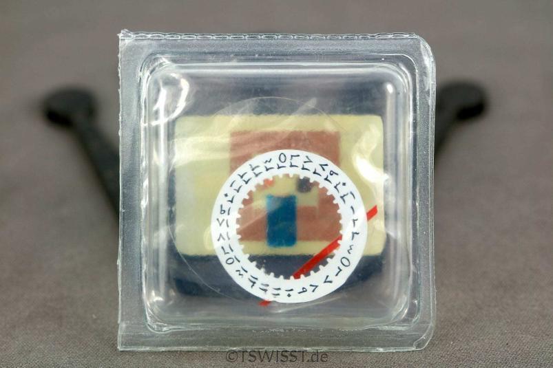 Rolex arabic date disc