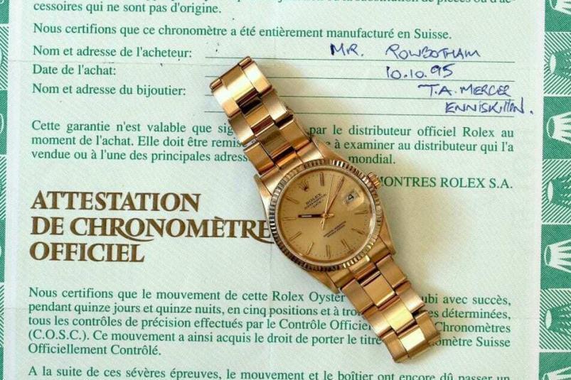 Rolex 15238 full set