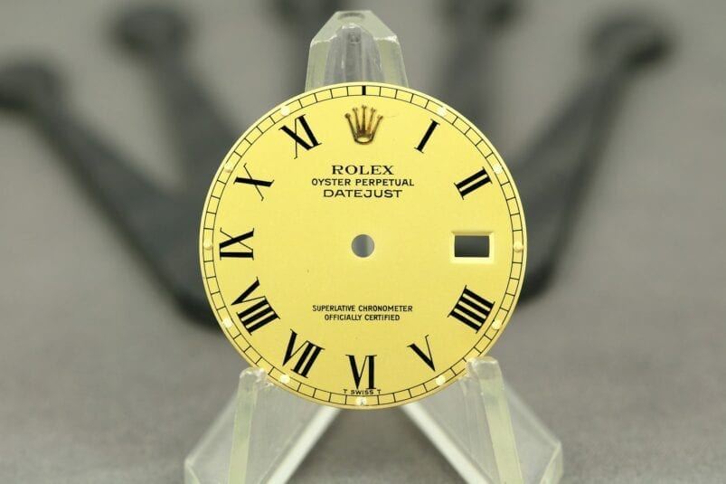 Rolex Datejust buckley dial