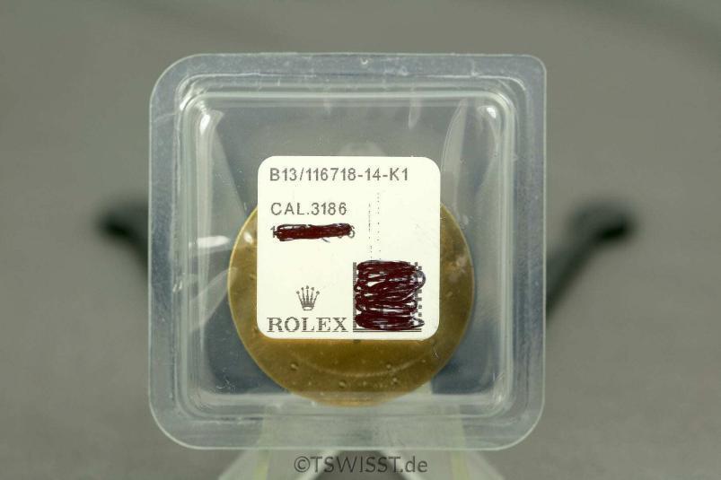 Rolex 116719 BLRO dial