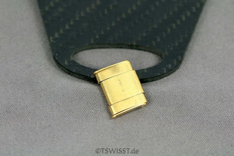 Rolex oyster rivet link gold