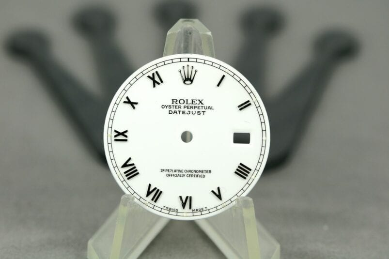 Rolex roman datejust dial
