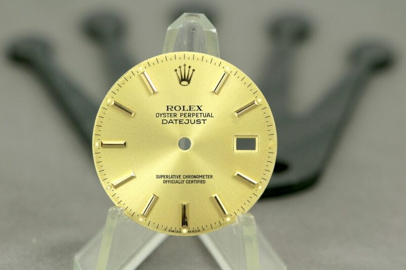 Rolex OP Datejust dial