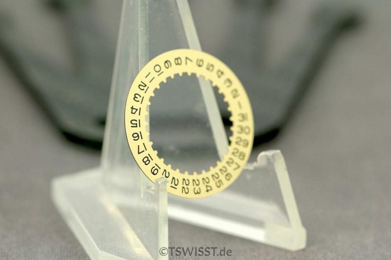 Rolex 3135 date disc