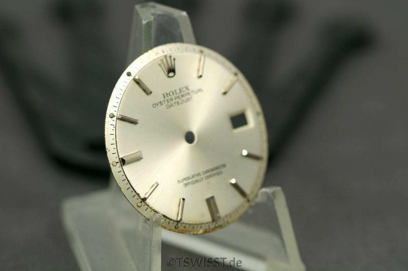 Rolex 1601 sigma dial