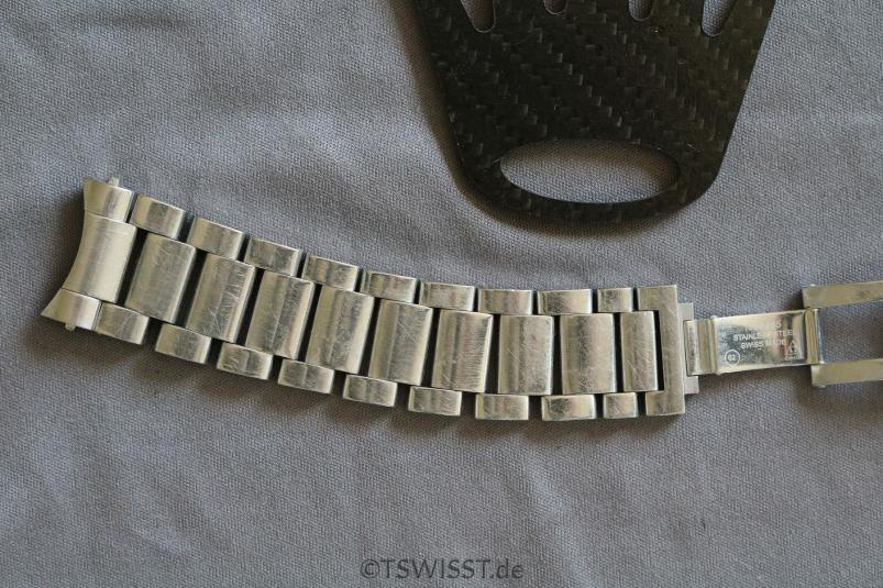 Omega Aqua Terra bracelet