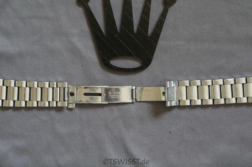Omega Seamaster bracelet