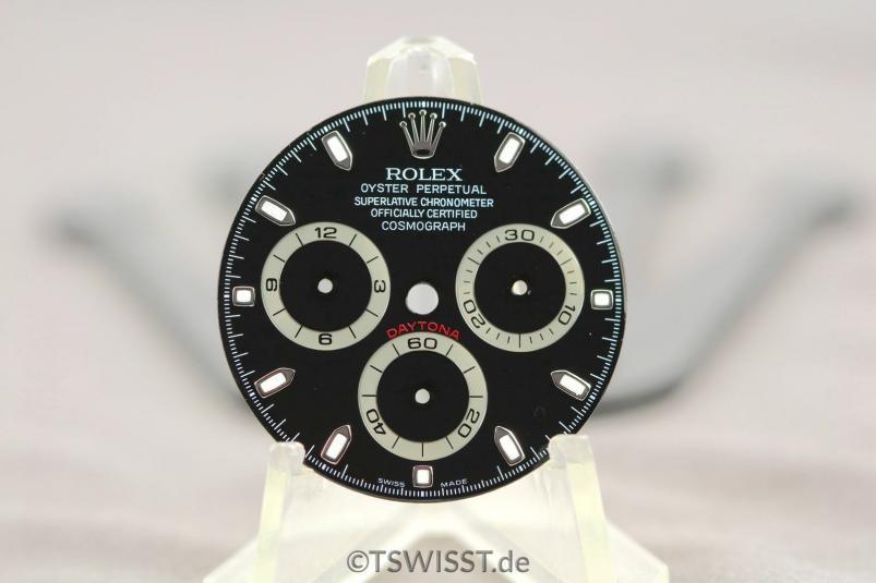 Rolex Daytona dial 116520