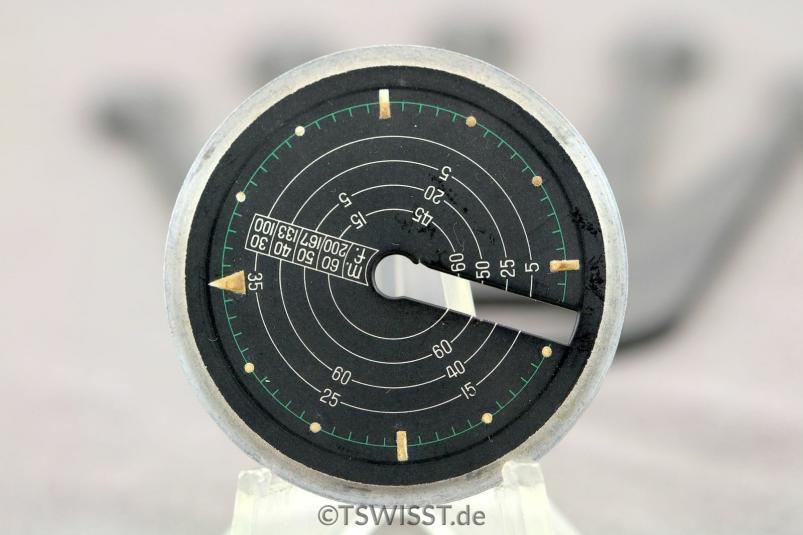 Vulcain Cricket Nautical dial