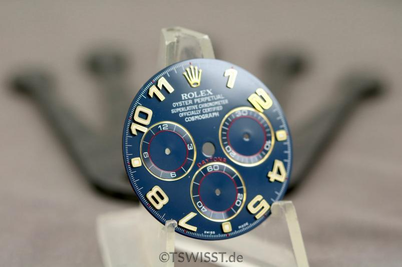 Blue Racing dial Rolex