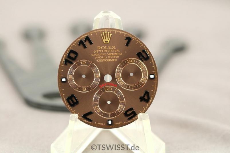 Rolex chocolate dial
