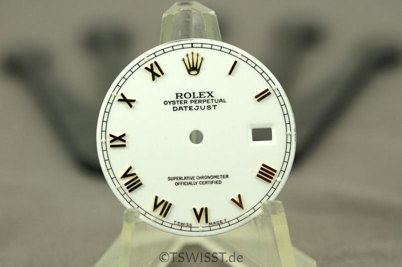 Rolex DJ dial NO FEET