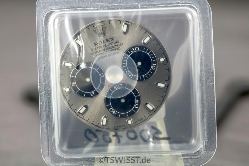 Grey Racing Dial Rolex